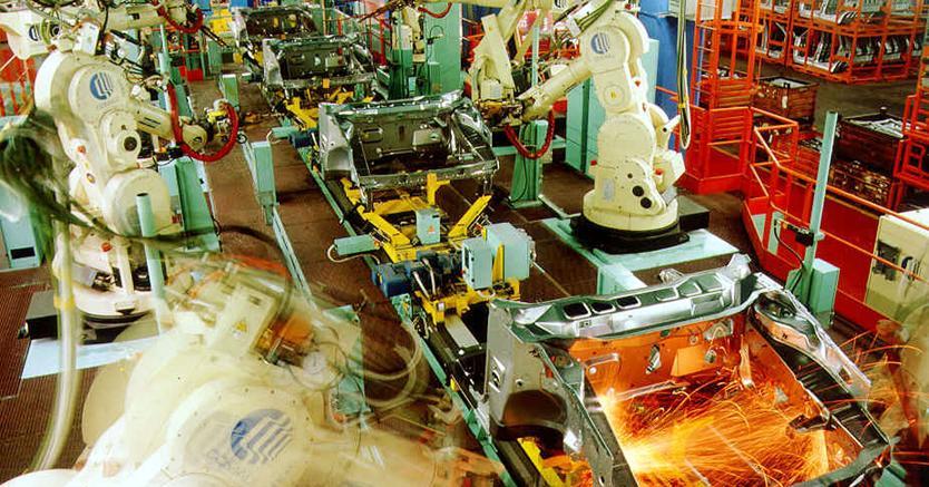 produzione industriale italiana in crescita