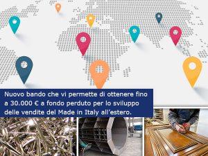 Voucher per l'internazionalizzazione d'impresa: da 10.000 a 15.000 € a fondo perduto per gli Export Manager