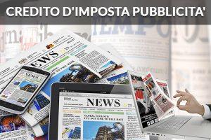 CREDITO D'IMPOSTA PUBBLICITA'- DEFINITI I CRITERI PER GLI INVESTIMENTI 01/01/2017 – 31/12/2017