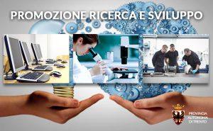 Provincia di Trento: Aiuti per la promozione di ricerca e sviluppo