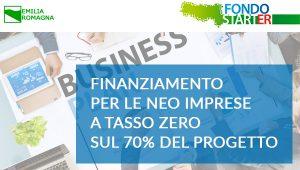 Fondo StartER – Emilia Romagna Riapertura del bando dal 1° Marzo 2018