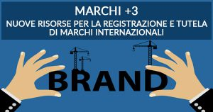 Contributo fino a 20.000 euro per la registrazione di marchi internazionali