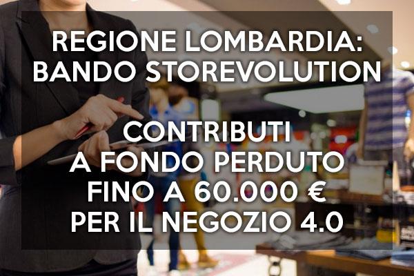 Bando StorEvolution: da Regione Lombardia 9,5 mln € per sostenere il Negozio 4.0